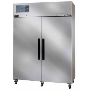 Stainless Steel Diamond Star Two Solid Door Fridge Williams