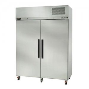 Stainless Steel Diamond Star Freezer Two Solid Door Williams