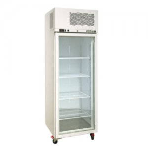 White Diamond Star Freezer One Glass Door Williams
