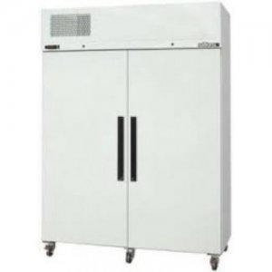 White Diamond Star Freezer Two Solid Door Williams