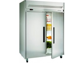 Garnet Dual Temperature 2/1 Gastronorm Solid Two Door Upright Cabinet Williams HLG2SDSS