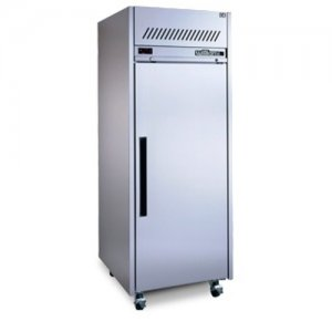 Stainless Steel Garnet 2/1 Gastronorm Freezer One Solid Door Williams