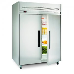Stainless Steel Garnet 2/1 Gastronorm Freezer Two Solid Door Williams