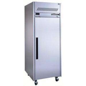 Stainless Steel Garnet Gastronorm 2/1 Solid One Door Fridge Williams
