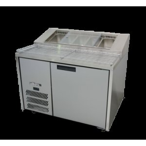 Pizza Preparation Counter Jade Williams Blown Air Well HJ1PCBA