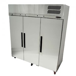 Stainless Steel Pearl Star Freezer Three Solid Door Williams