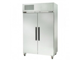 Stainless Steel Pearl Star Two Solid Door Fridge Williams HPS2SDSS