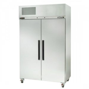 Stainless Steel Pearl Star Two Solid Door Fridge Williams