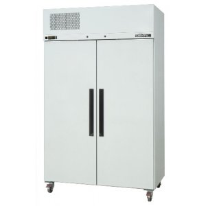 White Pearl Star Fridge Two Door Solid Williams HPS2SDCB