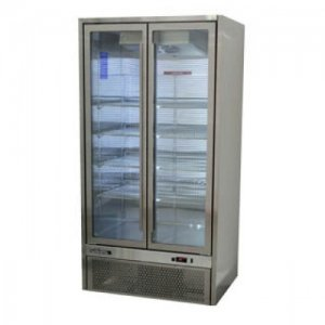 Two Glass Door Fridge Stainless Bottom Unit Quartz Williams