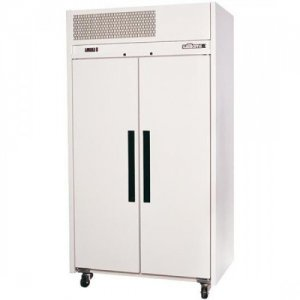 White Ruby Two Solid Door Fridge Williams