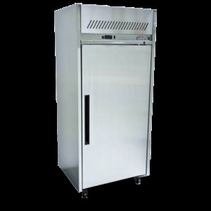 Stainless Steel Sapphire 2/1 Gastronorm One Solid Door Fridge Williams