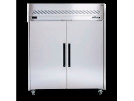 Stainless Steel Sapphire 2/1 Gastronorm Two Solid Door Fridge Williams HS2SDSS