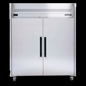 Stainless Steel Sapphire 2/1 Gastronorm Two Solid Door Fridge Williams