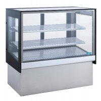 Glass TOPAZ Cake Display Cabinet Fridge Williams HTC12