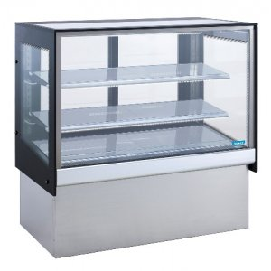 Glass TOPAZ Cake Display Cabinet Fridge Williams HTC9